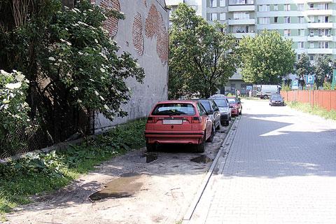 Parkowanie na Majowej niemile widziane
