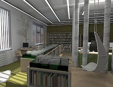 Nareszcie biblioteka na wschodniej Bia�o��ce