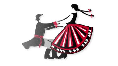 Znalezione obrazy dla zapytania taniec ludowy grafika