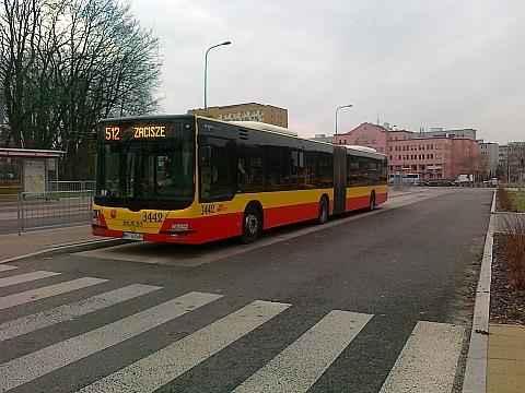 Dlaczego autobus 512 znikn±³ z Bemowa?