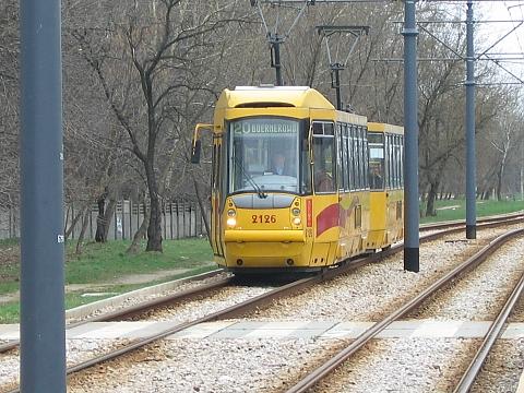 Stop dla tramwaju przy Dywizjonu 303