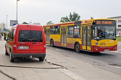 Zostawcie w spokoju autobus 326!