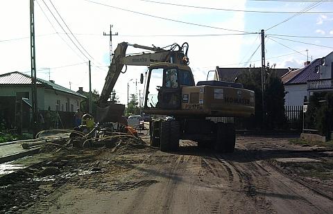 Marki wyr�nione za budow� kanalizacji