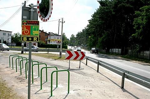 Bike and Ride w Markach. Gdzie jeszcze potrzebne stojaki rowerowe?
