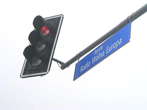 """Lazurowa/G�rczewska - rondo """"Wolna Europa"""" naprawd� wolne"""