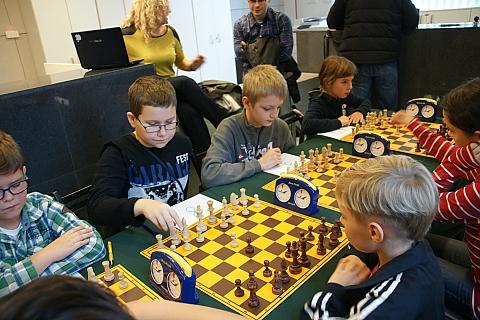 M�odzi szachi�ci rywalizowali w biela�skim ratuszu