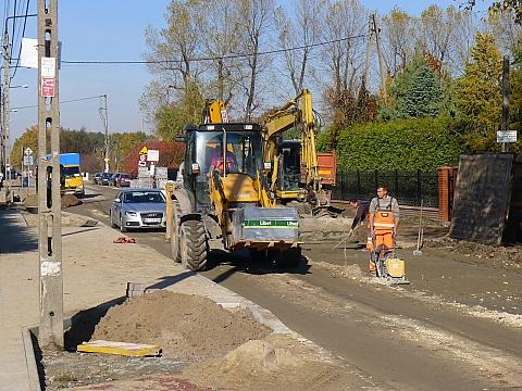 Trakt Lubelski: drogowy chaos na objazdach