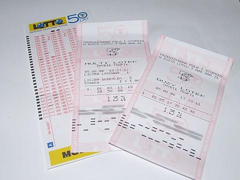 """Nowy milioner w Legionowie - pad³a """"szóstka"""" w Lotto"""