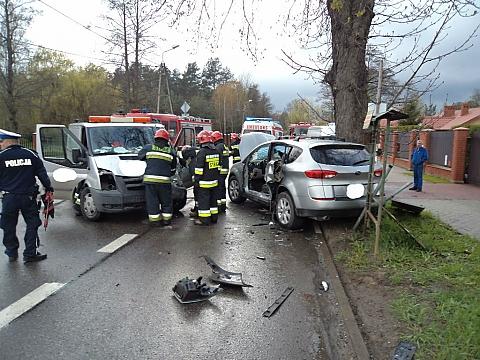 Wypadek na Kobia�ce - dlaczego tu nie ma chocia� lustra?