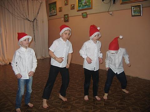 Boys Team: ta�cz�cy ch�opcy z Rado�ci