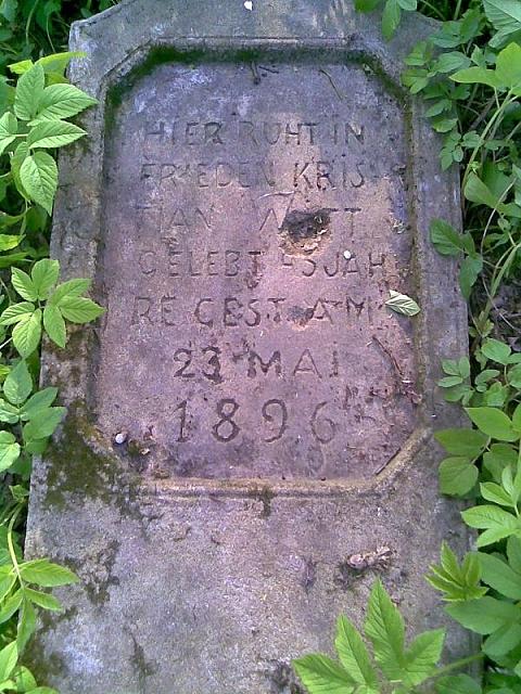 Zapomniany cmentarz na Kêpie Tarchomiñskiej