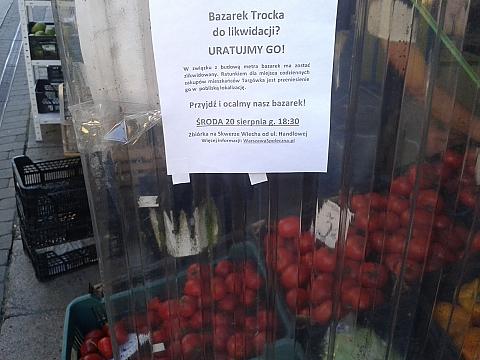 Bazar Trocka zniknie! Ale tylko na jaki� czas