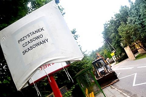 Autobusy nie je�d�� Akacjow�