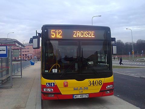 Chcemy je�dzi� 512 do centrum! Mamy 1714 podpis�w!