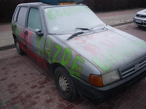 Kto zapomnia� zabra� auto z Myszkowskiej?