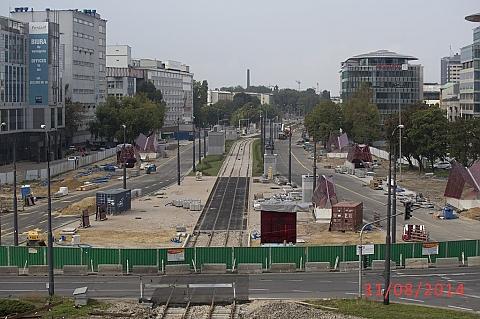 Czterysta os�b przeciwnych budowie metra na Woli