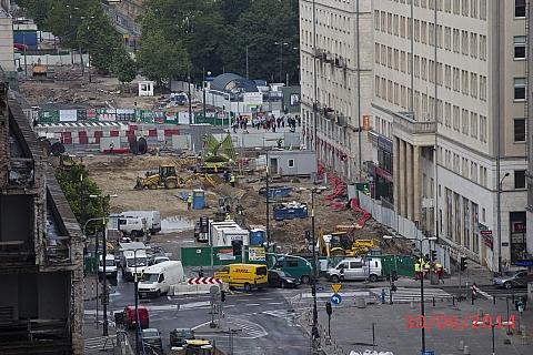 Czterysta osób przeciwnych budowie metra na Woli