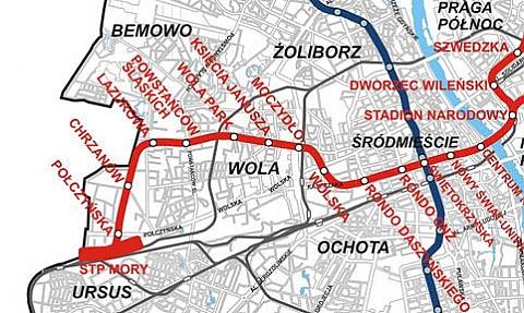 Jak nazwa� kolejne stacje metra?