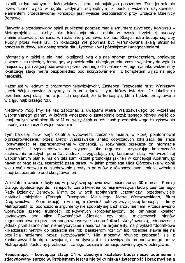 """Aktywi¶ci: zmieniæ projekt stacji """"Powstañców ¦l±skich"""""""