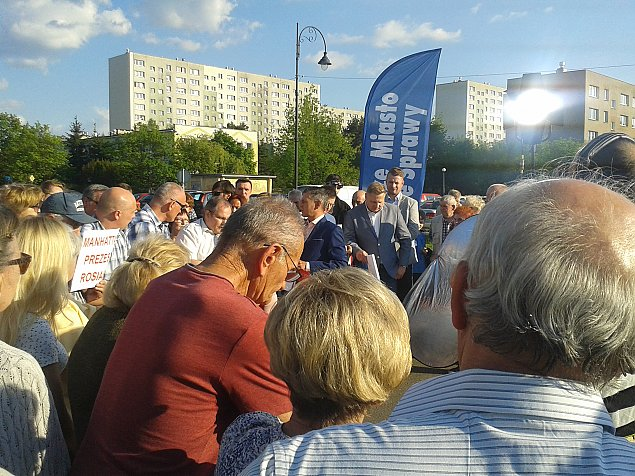 """Osiedle Jagiello�ska w telewizji. """"B�dziemy protestowa� do skutku"""""""