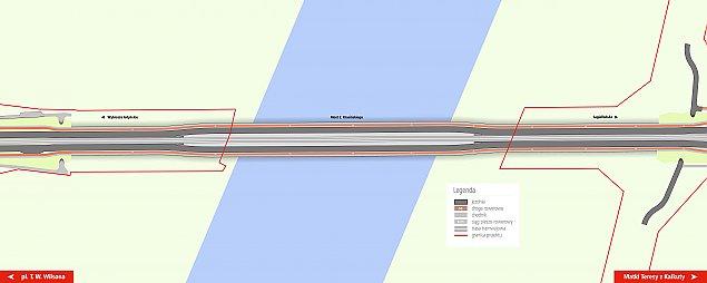 Warszawiacy zdecydowali: most Krasiñskiego z dwoma pasami dla aut