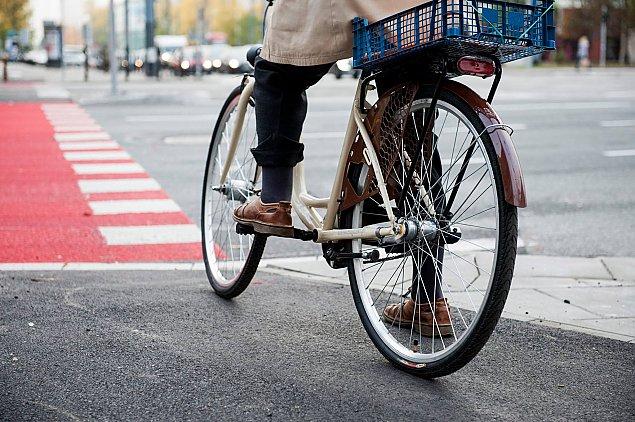 Rowerem z Bielan prosto do centrum