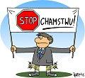 Stop chamstwu