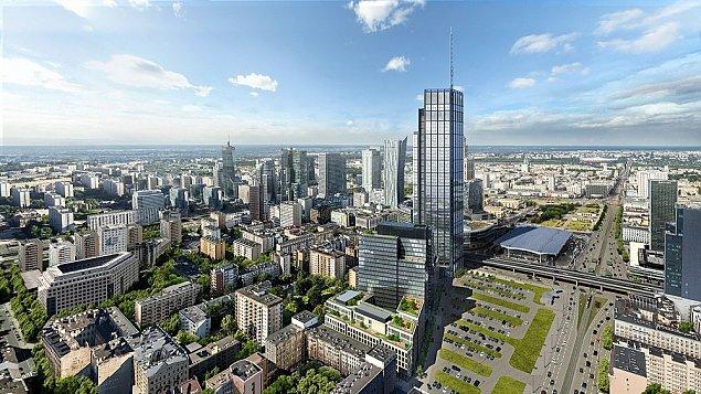Warszawa pnie siê do góry. Najwy¿szy budynek Unii stanie przy Chmielnej