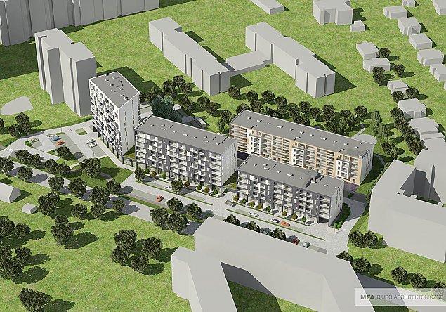 """Spó³dzielnia """"Lazurowa"""" znów buduje. 218 nowych mieszkañ"""