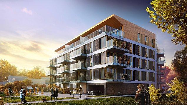 Nowe mieszkania na skraju Starych Bielan