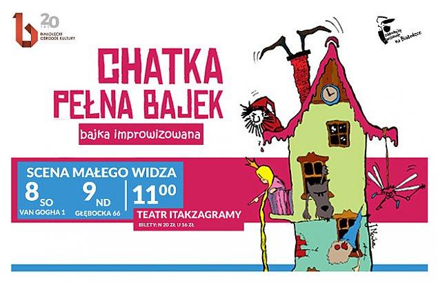 """""""Chatka pe³na bajek"""". Dzieci stworz± w³asny spektakl"""