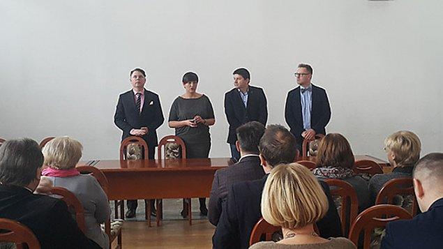 Soja-Koz³owska: burmistrzem jest Jan Mackiewicz