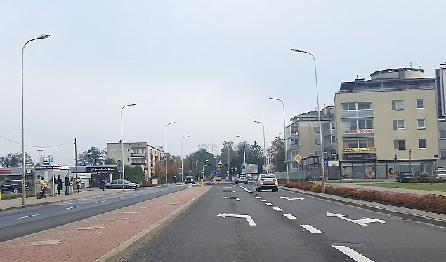 Pierwsze ¶wiat³a drogowe na Zielonej Bia³o³êce