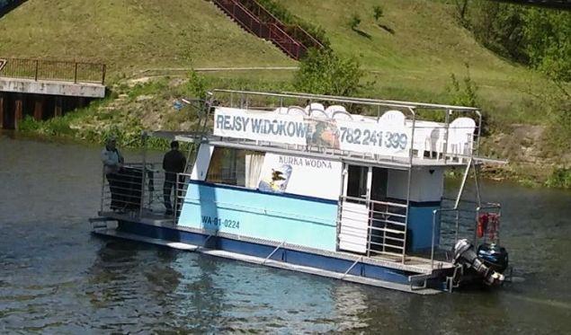 Pomys³ na weekend: statkiem z M³ocin za darmo