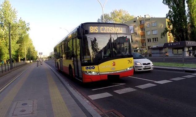 """Autobus kontra rower na Marymonckiej. """"Serdecznie przepraszam rowerzystê"""""""