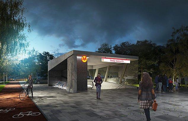Z³ote klamki kontra beton. Jak powinno wygl±daæ metro?