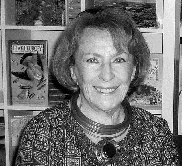 Zmar³a Wanda Chotomska, warszawianka z Wroniej