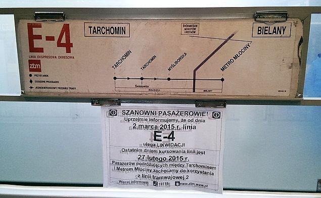 Czerwona strza³a Tarchomina. Têsknimy za E-4?