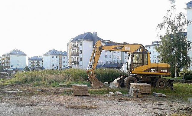 Dogêszczanie Wawrzyszewa. Ruszy³a budowa nowego bloku