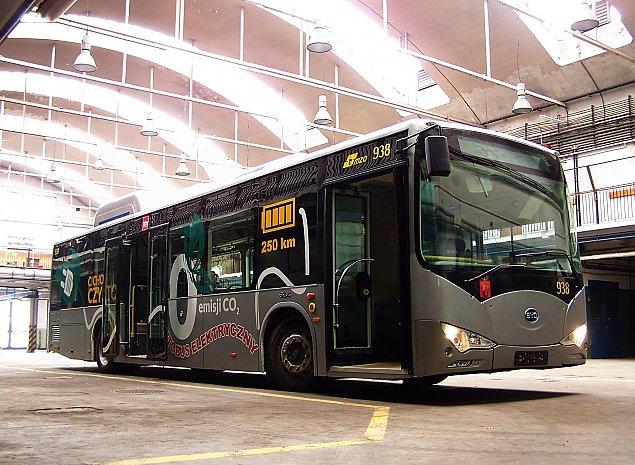 Zielone ¶wiat³o dla autobusu na Dewajtis