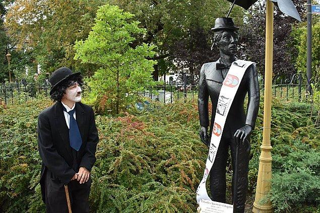 """Chaplin w Legionowie. """"Klimat przedwojennego rynku"""""""
