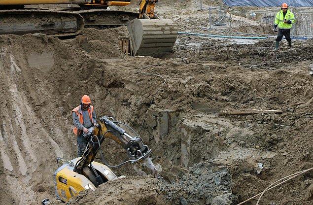 Ciekawe znaleziska podczas budowy metra