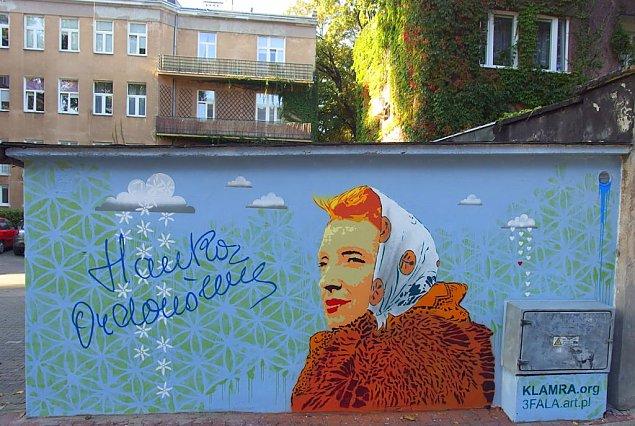 Mamy mural z Ordonk±, dziewczyn± z ¯elaznej