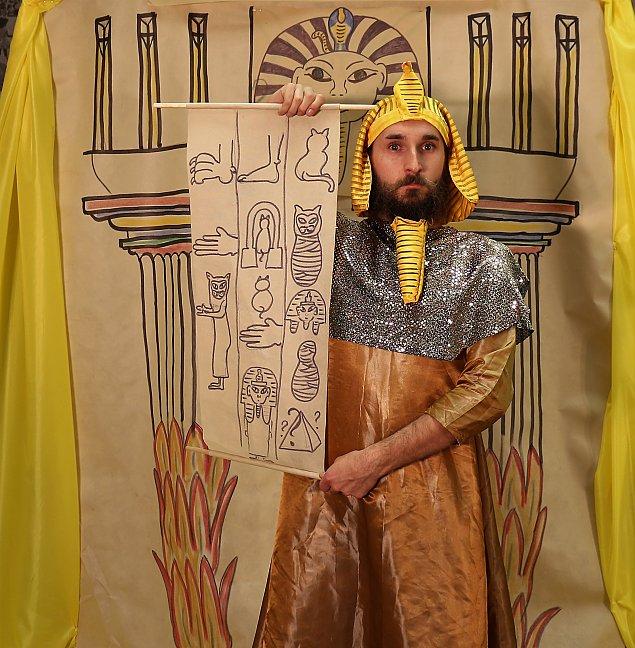 Tajemniczy Egipt. Spotkanie dla najm³odszych