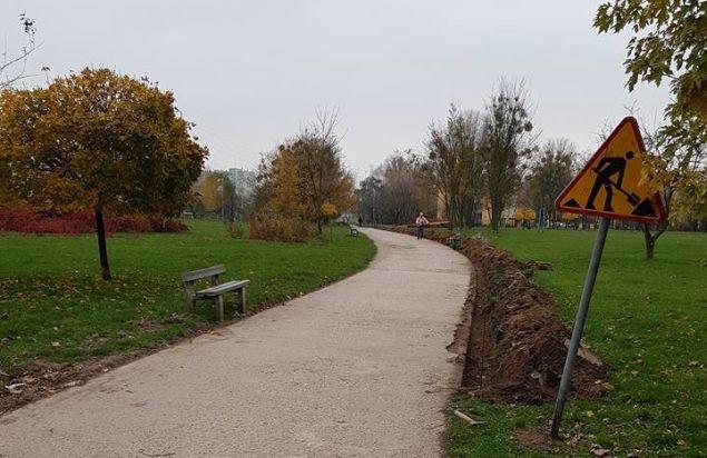 """Dobre wie¶ci z parku Górczewska. """"Uda³o siê""""."""