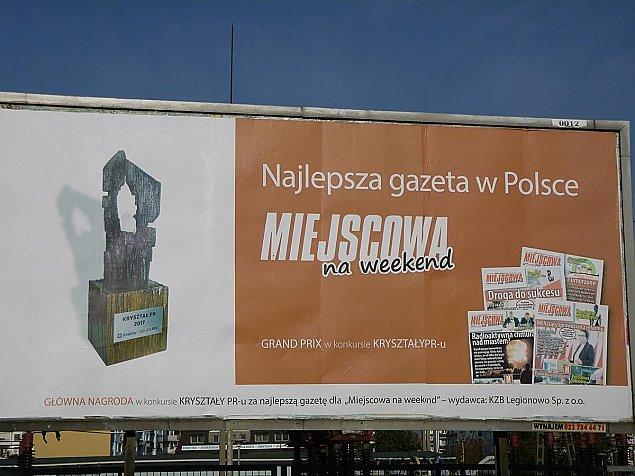 """Miejscowa """"Trybuna Ludu"""". Podw�jnie p�acimy za propagand� prezydenta"""