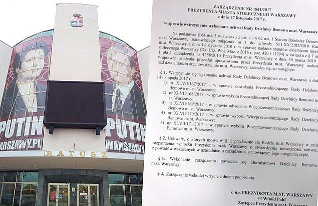 Demokracja na Bemowie jest zabroniona? Radni wybrali nowego burmistrza