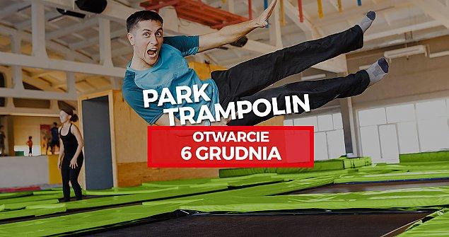 Park trampolin wreszcie na Tarchominie
