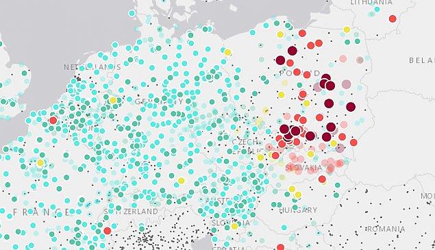 Mamy najgorsze powietrze w Europie