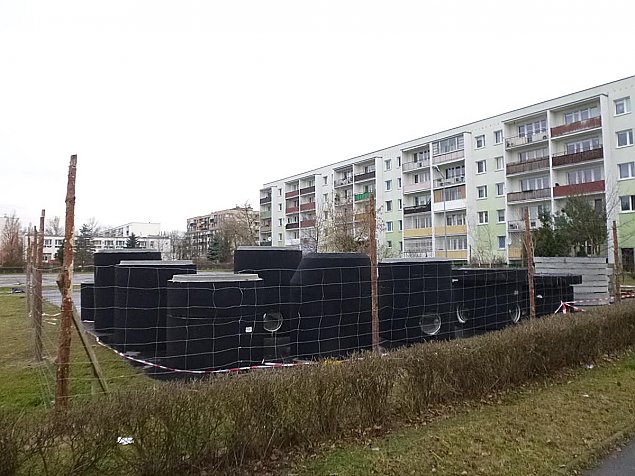 """Rusza budowa """"bloku niezgody"""". Protesty nie pomog³y"""